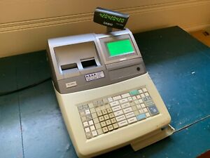 Casio Te3000s Electronic Cash Register Point Of Sale System Used Working