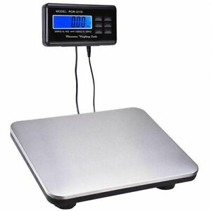 660lbs 0 1lb Ac Digital Scale Floor Bench Scale Postal Platform Shipping Scale