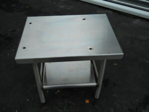 183 4 241 4 In Stainless A200 Mixer Table For Hobart Mixer