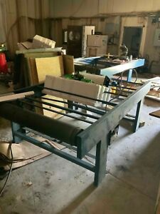 American Magnum 48 Uv Large Format Screen Printing Conveyor Frame