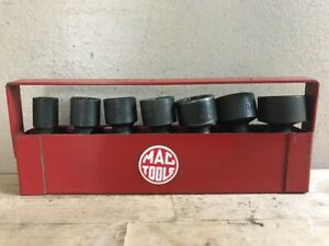 Mac Tools Xup 3 8 Dr 7 Pc Universal Swivel Impact Socket Set 6 Pt