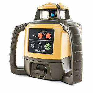 Topcon 1021200 07 2500 Foot Long range D cell Self leveling Construction Laser