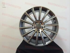Set Of Staggered 18 S550 Amg Style Rims Wheels Fits S600 E550 S430 S550 5112