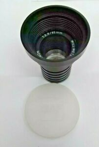 Will Wetzlar Maginon 1 2 8 85mm Projector Lens Vintage Made In Germany Bnip