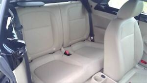 Volkswagen Beetle 2013 13 Rear Seat Tan Leather Without Headrests 49578