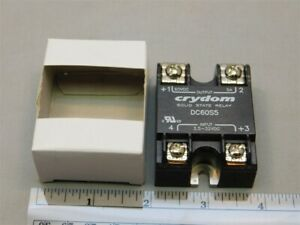 Crydom Dc60s5 3 5 32vdc Control 60vdc 5a Load Solid State Relay New