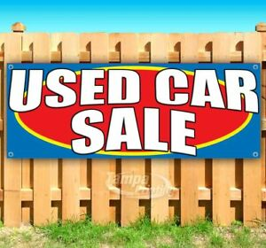 Used Car Sale Advertising Vinyl Banner Flag Sign Many Sizes Usa