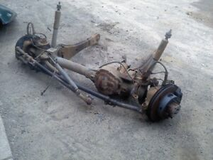 Ford F350 Front Axle Dually Truck