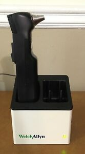 Welch Allyn Audioscope 3 Portable Screening Audiometer Charging Station Works