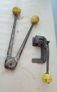Acme Steel Tensioner Banding Strapping Tool Machine With Crimper