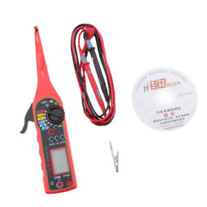 Car Voltage Detector Test Pen Digital Display Circuit Tester Dc 12v