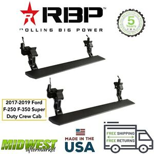 Rbp Stealth Power Electric Running Boards 2017 19 Ford F250 F350 Super Duty Crew