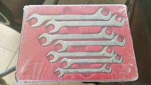 New Snap On Flank Drive Plus 4 Way Angle Head Sae Wrench Set 3 8 3 4 Svs807a