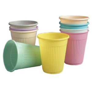 Up To 2000 Color Optional Dental Plastic Drinking Cups Sky Choice Premium 5oz