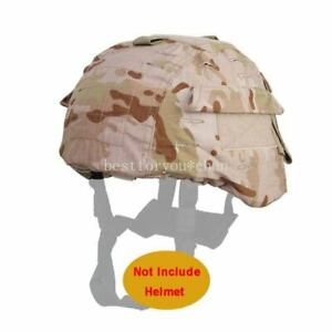 Emerson Tactical Airsoft Military MICH 2000 Ver2 Helmet Cover W Back Pouch MCAD