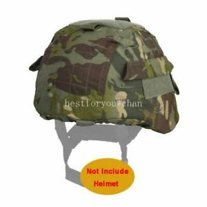 Emerson Tactical Airsoft Military MICH 2000 Ver2 Helmet Cover W Back Pouch MCTP