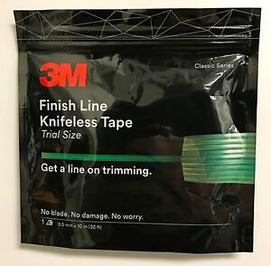 3m Finish Line Knifeless Tape For Graphics Wraps 1 8 X32 3 5mm X10 M