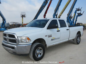 2014 Dodge Ram 2500 Hd 4x4 Crew Cab Pickup Truck 8 Bed Hemi 6 4l Automatic