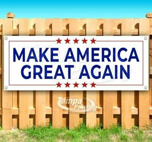 Make America Great Again Advertising Vinyl Banner Flag Sign Many Sizes Trump