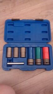 Bluepoint By Snap On Wheel Bolt Removal Socket Set