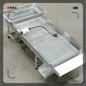 Electric Vibration Sieve Shaker Vibrating Sieve Machine For Food Textile Medical