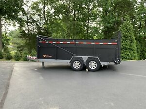 Bwise Ultimate Dump Trailer hydraulic Gate Jack Tarp Fold Down Sides