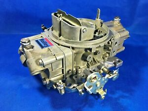Holley 4150 650 Cfm Double Pumper Carburetor 4777 2 With Manual Choke