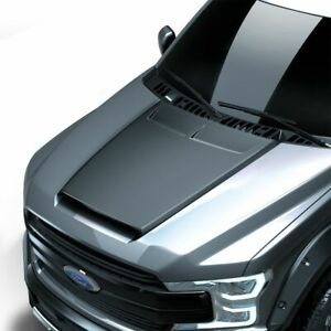Fits 15 20 Ford F150 Air Design Custom Style Hood Scoop Satin Black New Fo25a01