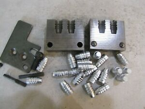 RCBS 38-162-SWC Double Cavity Gas Check Bullet Mold Lead Bullet Casting Mould