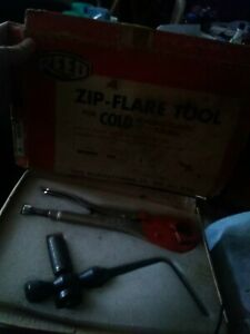 2 Reed Zip Flare Tool For Cold Flaring Plastic Tubing