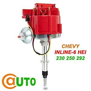 Brand New Hei Ignition Distributor 6522r For Chevy Inline 6 Cyl 230 250 292