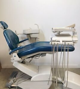 Adec 1021 Decade Dental Chair W delivery System Cuspidor Assistants Pkg