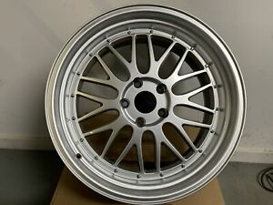 19 Staggered Lm Style Hyper Silver Wheels Rims Fits Bmw 4 Series