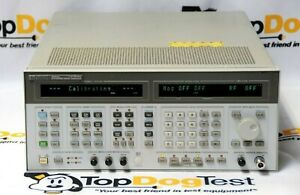 Hp Agilent Keysight 8644a 001 Synthesized Signal Generator 1ghz 1030mhz