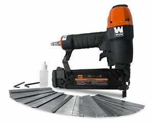Wen 61721 18 gauge 3 8 inch To 2 inch Pneumatic Brad Nailer With 2000 Nails