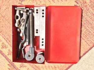 Snap On Puller Cj2002 With Adapters And Metal Storage Box