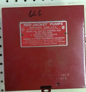 Veeder root Red Jacket Pump Control Box 880 041