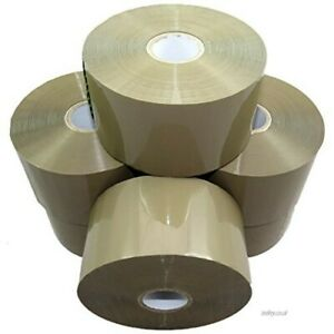 Strong Brown Parcel Packing Packaging Tape Sellotape Carton Sealing 48mm X 150m