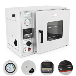 0 9 Cu Ft 480 f Lab Vacuum Air Convection Drying Oven 2 Trays Multi Usage