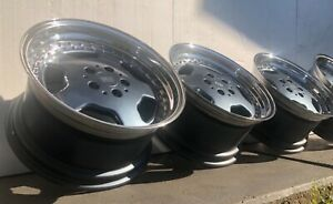 4x Rh Topline 9x17 9 5x17 Amg Wheels 5x120 Bmw 2 Pieces Zw2