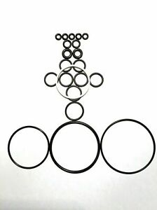 Commercial Grade Buna 246355 Fits Graco Fusion O ring Kit Ap Aftermarket 30 Pk