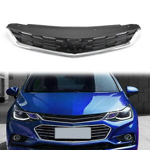 New 1x Replace Part Front Bumper Upper Grille For Chevrolet Cruze 2016 2018 Us