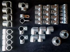 Lot Of 37 Nos And Used Hollaender Nu rail Speed Rail Fittings 1 1 2