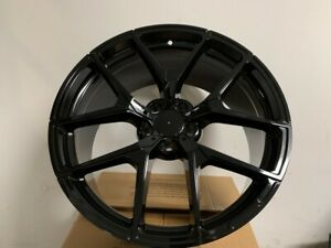 20 Mercedes Benz Gloss Black Amg Style Y Spoke Staggered Rims Wheels Fits 5x112