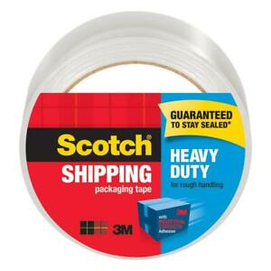 Scotch Heavy Duty Shipping Packaging Tape 1 88 Inches X 54 6 Yards 12 Rolls