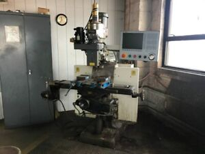 Hardinge Bridgeport Ez Vision Cnc Vertical Mill 30055