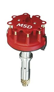 Msd 8558 Chevy Low Profile Crank Trigger Distributor