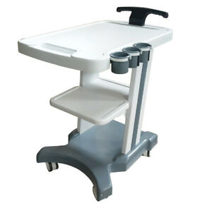 Vertical 22 11 25 Mobile Trolley Cart For Portable Ultrasound Abs Material