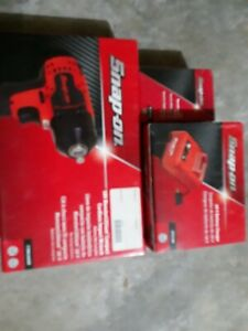 Snap On Ct8810adb 18v Lith ion Cordless 3 8 Impact Wrench Kit 1 Batteries