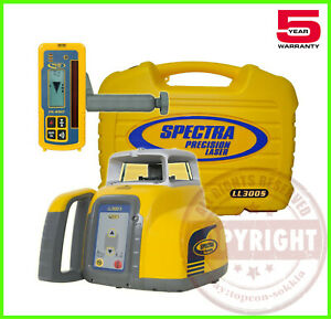 Spectra Precision Ll300s Self Leveling Slope Rotary Laser Level transit topcon